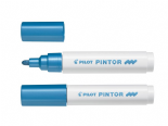 Metallic Blue Medium Pilot Pintor Paint Marker